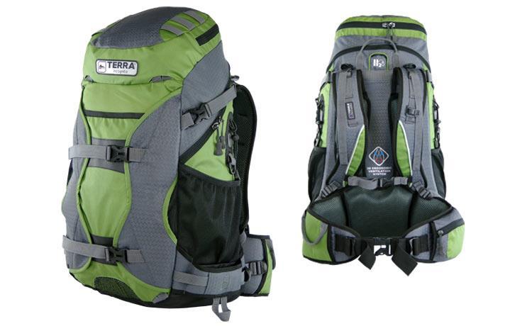 Рюкзак Terra Incognita Nevado 50 (зелён/сер)