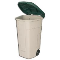 Контейнер для мусора Curver 110 л, фото 1