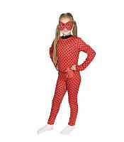 Детский карнавальный костюм на 3,4,7,8 лет ЛЕДИ БАГ ГЕРОИ В МАСКАХ для девочки