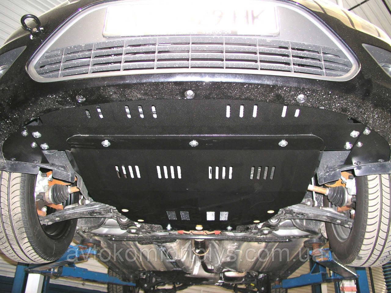 Металлическая (стальная) защита двигателя (картера) Ford Focus C-Max (2003-2010) (все обьемы)