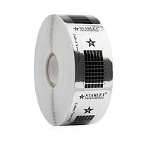 Формы для наращивания ногтей Starlet узкие, серебряные, 500 шт.