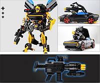 Бамблби большой робот-трансформер в черном окрасе 34см