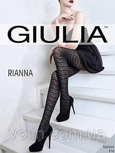 Колготки женские с рисунком Giulia Rianna 60 модель 4.
