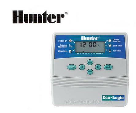 Контроллер ELC 401i-E, 4 зоны полива (внутренний) Hunter, фото 2