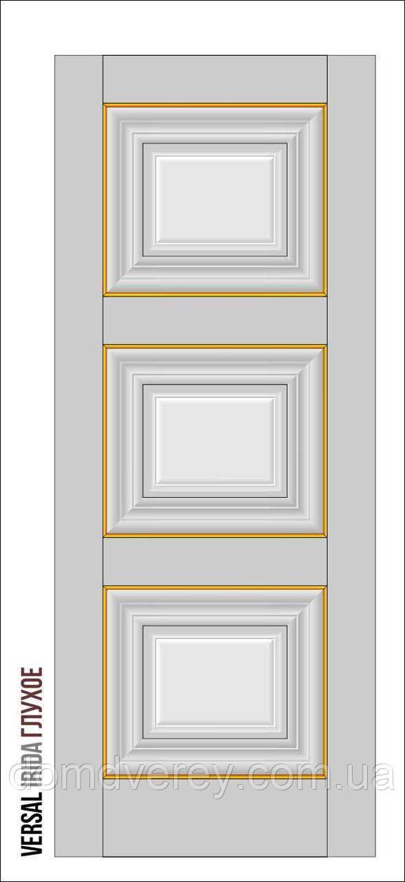Двери межкомнатные, Родос, Versal, Irida, глухое, small molding