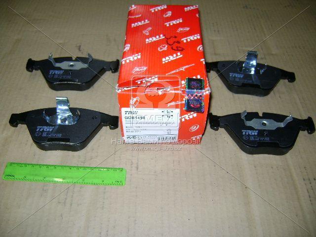 ⭐⭐⭐⭐⭐ Колодки тормозные БМВ 3 (E90), 5 (E60) передние (производство  TRW) 1,7,X1,З4, GDB1498