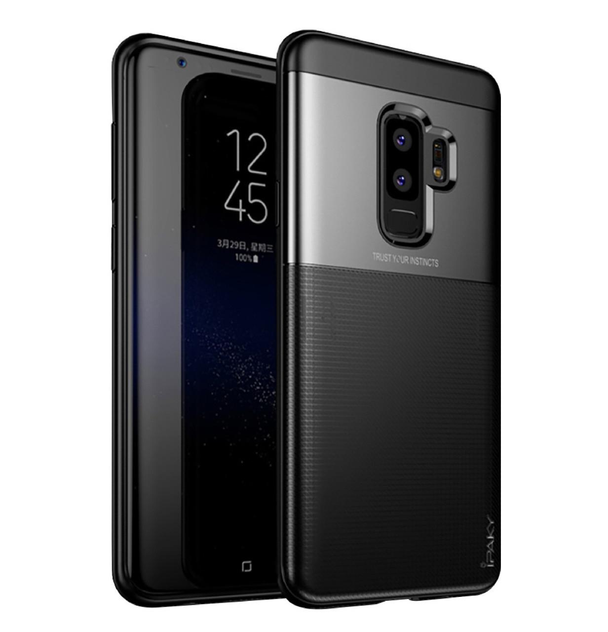 Чехол iPaky TPU+PC Dunjia для Samsung Galaxy S9 Plus Black