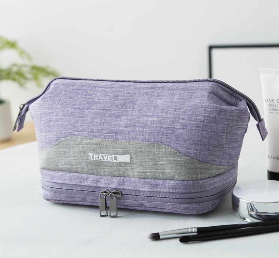 c2f638182f47 Органайзер-косметичка дорожная Travel Bag 24*15*12 см, серый., цена ...