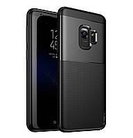 Чехол iPaky TPU+PC Dunjia для Samsung Galaxy S9 SM-G960F Black