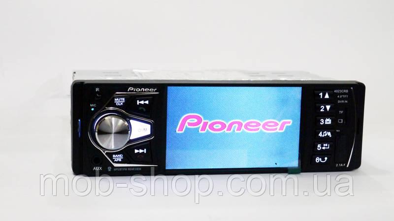 """Автомагнитола Pioneer 4023 4""""+Bluetooth+ AV-in Видео вход"""