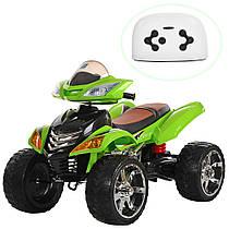 Квадроцикл детский электрический M 3101(MP3)EBLR-5 зеленый Гарантия качества Быстрая доставка