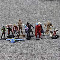 Игрушки коллекционные фигурки Стражи Галактики, Guardians of the Galaxy, Звездный лорд