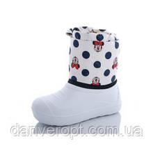 Сапоги детские зимние стильные с красивым принтом на девочку размеры 28-35 купить оптом со склада 7км Одесса
