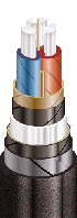 Силовой кабель ААБл-10 3х70