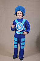 Детский карнавальный костюм ФИКСИК НОЛИК для мальчика 4,5,6,7,8,9 лет, костюм СУПЕРГЕРОЕВ