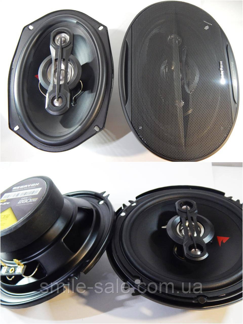 Набор акустики Megavox 2 овала + 2 круглые 16 см 230 Вт RMS Мега-Звук, фото 1