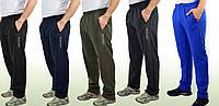 Мужские теплые трикотажные штаны с начесом Colorado БАТАЛ РАЗМЕР 58