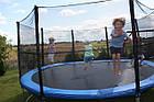 Батут FunFit 183 см + сетка до 90 кг для взрослых и детей профессиональный, фото 3