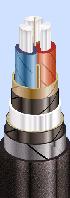 Силовой кабель ААБл-10 3х150