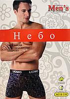 Трусы мужские боксёры хлопок + бамбук UOMO размер XL-4XL(46-52) 336