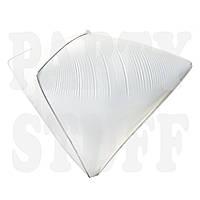Фольгированный шар алмаз белый, 60*40 см