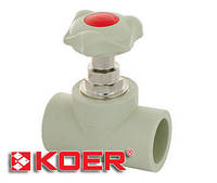 Кран вентильный 32 Koer K0185.PRO