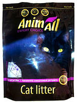 AnimAll Silica Gel Ametist Premium Силикагелевый наполнитель для кошачьего туалета