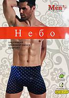 Трусы мужские боксёры хлопок + бамбук UOMO размер XL-4XL(46-52) 0121