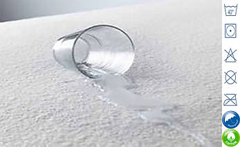 Наматрасник 120х200 непромокаемый аквастоп, фото 2