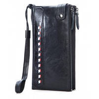 Мужской кошелек портмоне BEXHILL BX9091A из телячьей кожи , фото 1