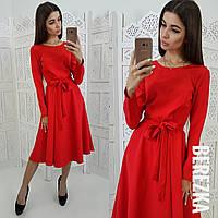 Женское шикарное платье с пышной юбочкой (расцветки)