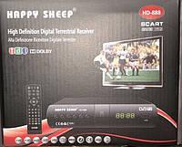 Тюнер T2 Happy Sheep HD-888, приставка Т2 , ТВ ресивер, ТВ тюнер, Телеприемник, цифровое телевидение, фото 1