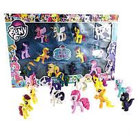 Набор игрушки Май Литл Пони  в коробке( my Little Pony ),12 шт, фото 1