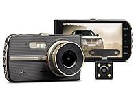 """Автомобильный Видеорегистратор DVR T653 4"""" Full HD, WDR на 2 камеры!, фото 1"""