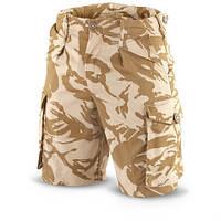 Британские армейские шорты ДДПМ ( размеры-талия 68,72,76, 80, 84, 88, 92см)