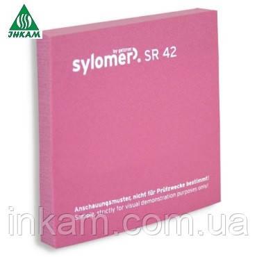 Sylomer SR42 12.5мм розовый, виброизоляция