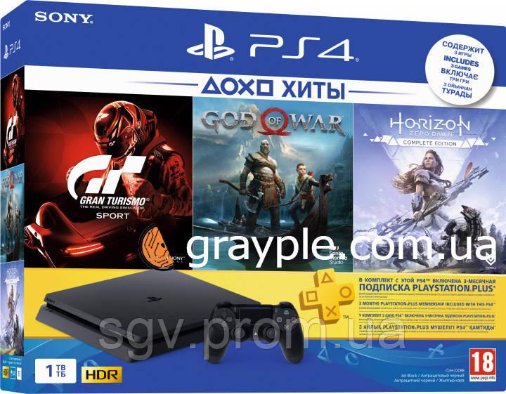 Теперь Playstation 4 доступна каждому! PlayStation 4 Slim 1Tb за 5330 гривен!