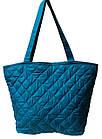 Женская бренд сумка голубая  ( 34x30 см) большая, фото 2