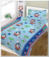 Бязь для детской постели с набивным рисунком  (Польша)