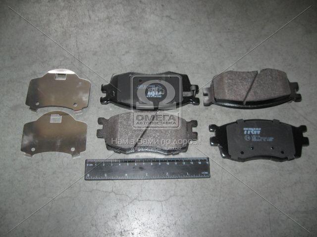 ⭐⭐⭐⭐⭐ Колодки тормозные ХЮНДАЙ ACCENT, КИA RIO II передние (производство  TRW) ХЮНДАЙ,AКЦЕНТ  3,и20,РИО  2, GDB3420