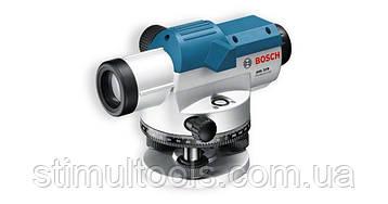 Контрольно-измерительный оптический нивелир Bosch GOL 26D, кейс