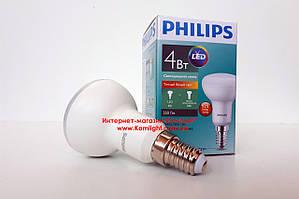 Лампа светодиодная PHILIPS ESS LED 4W E14 2700K 230V R50 рефлекторная