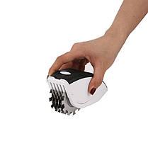 Нож для измельчения 3-в-1 Rolling Mincer и Tenderizer с чесночным прессом, фото 3