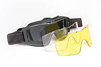 Тактическая противоосколочная маска очки (проверено дробовиком!)
