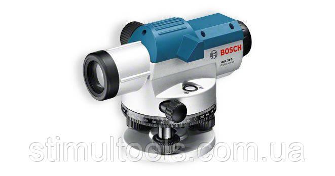 Контрольно-измерительный оптический нивелир Bosch GOL 20 D