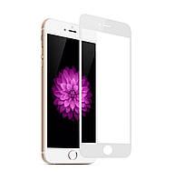 Защитное стекло 4D Full Cover для IPhone 6 Plus White (Screen Protector 0,3 мм)