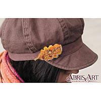 """Набор для вышивки бисером украшения """"Дубовый листочек"""", фото 1"""