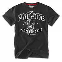 Футболка Dobermans Mad Dog TS69BK, фото 1