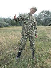 Детский военный костюм для мальчиков Киборг камуфляж Мультикам , фото 2