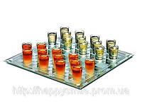 Подарок на день рождение алко-игра Шашки (пьяные шашки) 25 (L) х 25 х 0,4 (h) см